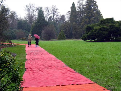 Kalmthout: Roter Teppich für die Besucher