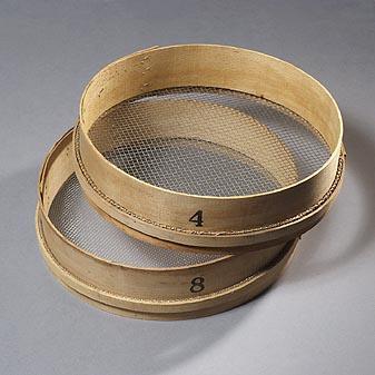 gartensieb mit buchenholz ring. Black Bedroom Furniture Sets. Home Design Ideas