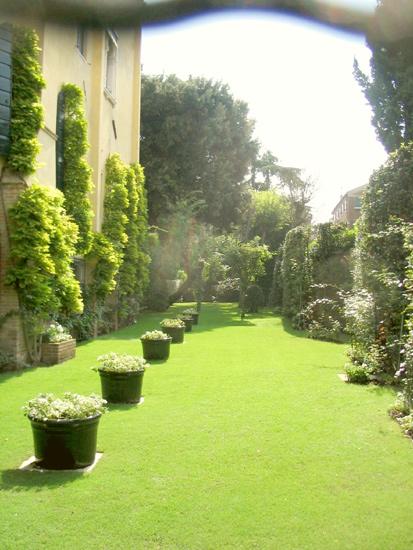 Garten in Venedig 3