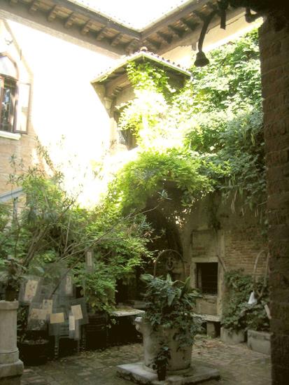 Garten in Venedig 4