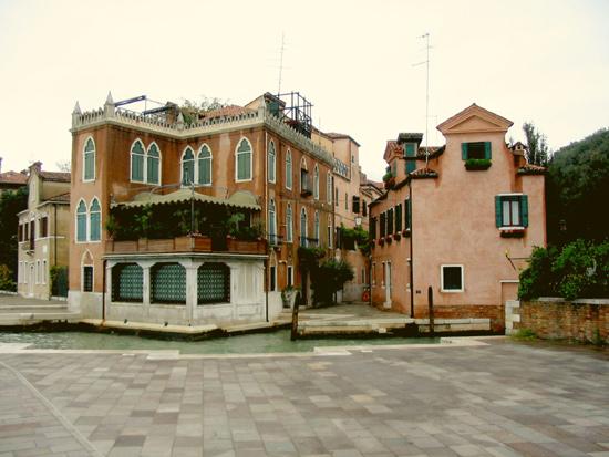 Garten in Venedig 9