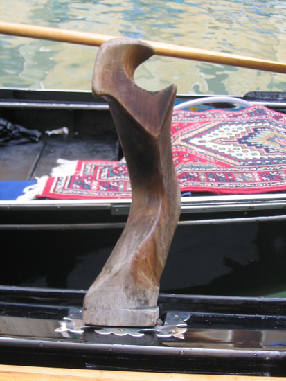 la forcola - Rudergabel
