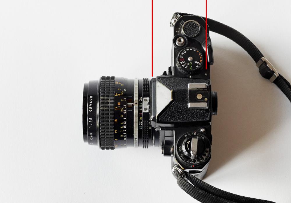 Objektiv-Auflagemaß Kleinbild-SLR Nikon FE