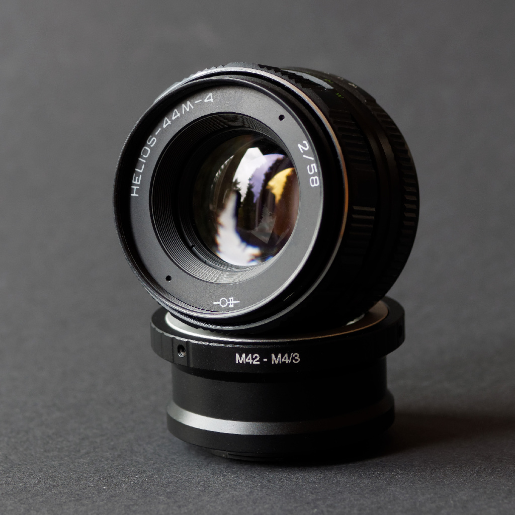 Objektiv Helios 44 M 4 2,0 58 mm