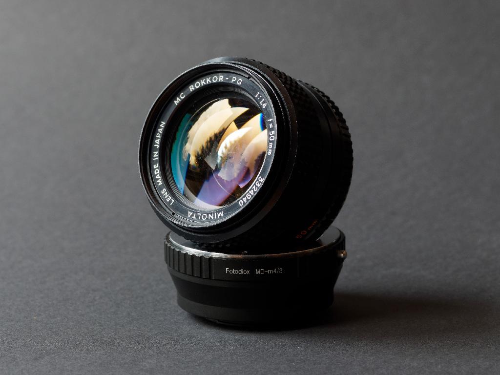 Objektiv MC Rokkor-PG 1,4 50 mm